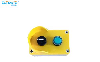双孔塑料按钮盒_开关控制盒_事故按钮盒