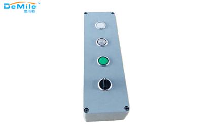 四孔铸铝按钮盒_开关控制盒_急停按钮盒