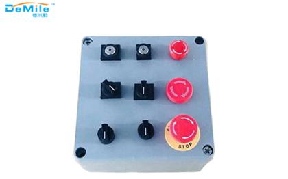 多孔铸铝按钮盒_开关控制盒_急停按钮盒